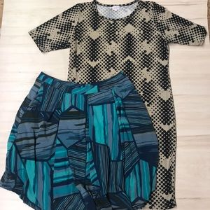 LuLaRoe duo! Size 3XL! Like new
